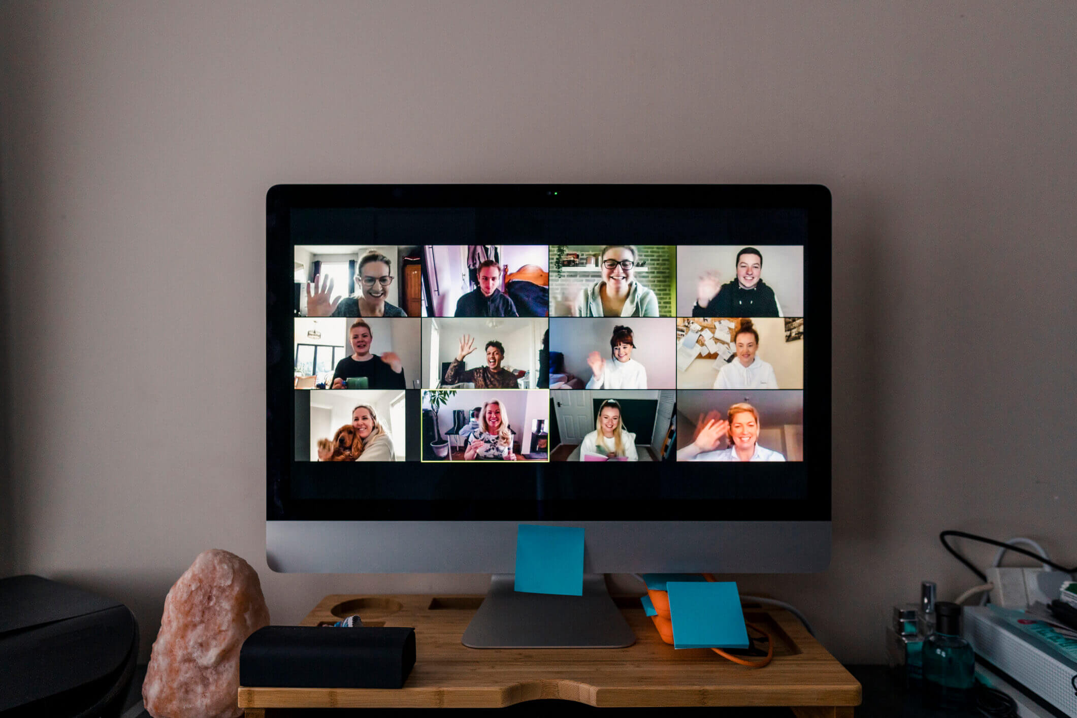 video conference home set up